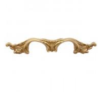 Мебельная ручка Corona 0010 золото полированное