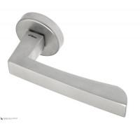 Дверная ручка Fratelli Cattini HAMMER 7-CS на круглой розетке матовый хром