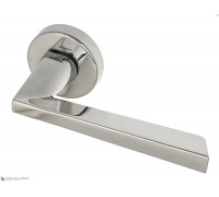 Дверная ручка Fratelli Cattini UNICA 7-CR на круглой розетке полированный хром