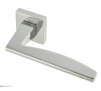 Дверная ручка Fratelli Cattini TECH 8-CR на квадратной розетке полированный хром