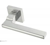 Дверная ручка Fratelli Cattini SLIM 8-CR на квадратной розетке полированный хром