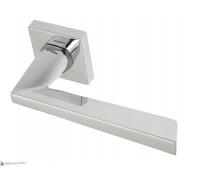 Дверная ручка Fratelli Cattini UNICA 8-CR на квадратной розетке полированный хром