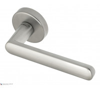 Дверная ручка Fratelli Cattini NEVADA 7-CS на круглой розетке матовый хром