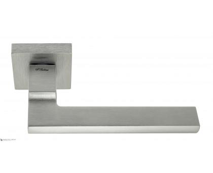 Дверная ручка Fratelli Cattini SLIM 8-CS на квадратной розетке матовый хром