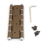 Петля дверная пружинная Amig-3035-180*133,5*4 бронза (BR) 180мм