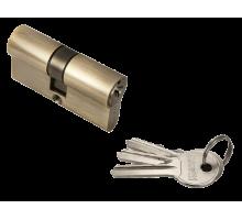 Ключевой цилиндр Rucetti ключ/ключ (60 мм) R60C AB Цвет - Античная бронза