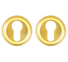 Накладка Fuaro (Фуаро) под цилиндр ET/ZM GP/SG-5 золото/матовое золото