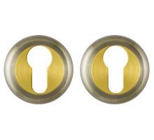 Накладка Fuaro (Фуаро) под цилиндр ET/ZM AB/SG-6 бронза/матовое золото