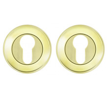 Накладка Fuaro (Фуаро) под цилиндр ET RM GP/SG-5 золото/матовое золото
