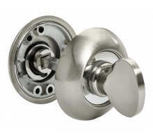 Завертка сантехническая Rucetti RAP WC SN/CP Цвет - Белый никель/хром