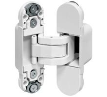 E30200.03.91 (белый) AGB (АГБ) петля скрытая ECLIPSE 2.0 белый (4 накладки в комплекте)