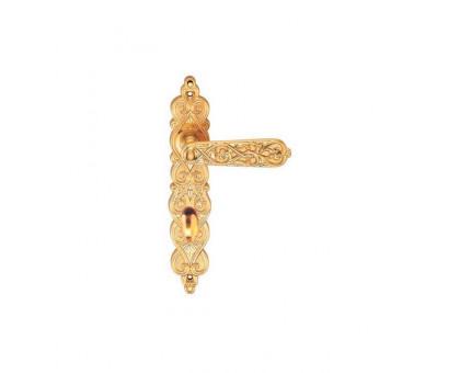 Дверная ручка на планке Archie Genesis Arabesco S. GOLD (OL) сантехническая матовое золото