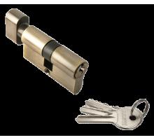 Ключевой цилиндр Rucetti с поворотной ручкой (60 мм) R60CK AB Цвет - Античная бронза