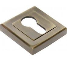 Накладки на ключевой цилиндр Rucetti RAP KH-S AB Цвет - Античная бронза