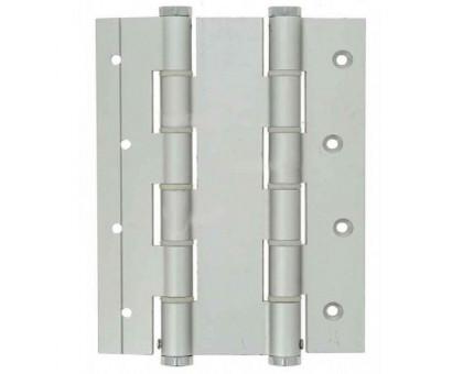 Петля дверная пружинная Justor DA180A 5934.01 серебро (матовый хром) 180мм