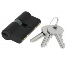 Цилиндровый механизм Extreza AS-60 ключ-ключ 25x10x25 черный матовый F22