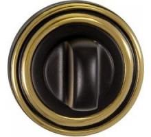 Завертка RENZ BK 16 BIG B/GP черный/золото блестящее