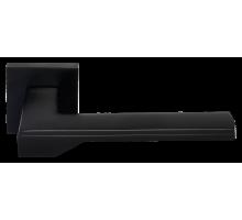 """Дверные ручки Morelli """"Pierres"""" DIY MH-49-S6 BL Цвет - Чёрный"""