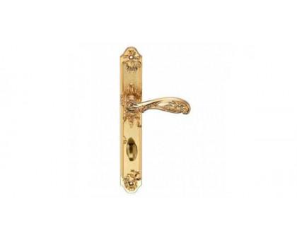 Дверная ручка на планке Archie Genesis Flor S. GOLD (OL) сантехническая матовое золото