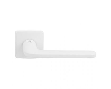 Дверная ручка Colombo Roboquattro S ID51 RSB-BI на квадратной розетке (матовый белый)