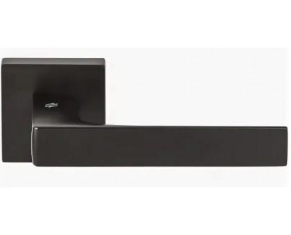 Дверная ручка Colombo Robocinque S ID71 RSB-NM на квадратной розетке (матовый черный)