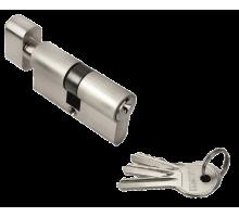 Ключевой цилиндр Rucetti с поворотной ручкой (60 мм) R60CK SN Цвет - Белый никель