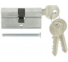 Цилиндровый механизм Extreza AS-60 ключ-ключ 25x10x25 матовый хром F05