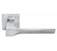 Ручка дверная Morelli LUXURY FIORD-SQ CSA Матовый хром