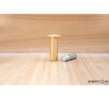 Упор магнитный напольный дверной FANTOM PREMIUM HGT001 Золото (Матовая латунь)
