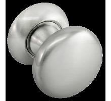 """Поворотные круглые ручки (кнобы) Morelli """"FOSTER"""" MHR-1 SN Цвет - Белый никель"""