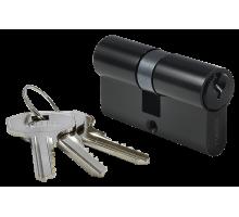 Ключевой цилиндр MORELLI ключ/ключ (70 мм) 70C BL Цвет - Черный