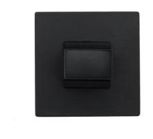Фиксатор поворотный на квадратном основании Fratelli Cattini WC 8FS-NM матовый черный