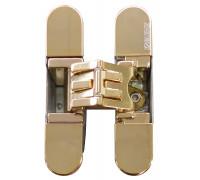 KUBICA 2700 DXSX, GOLD петля скрытая универсальная ЗОЛОТО (57 kg)