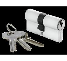 Ключевой цилиндр MORELLI ключ/ключ (60 мм) 60C W Цвет - Белый