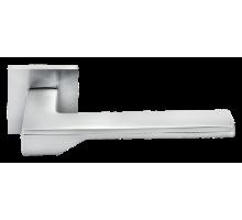 """Дверные ручки Morelli """"Pierres"""" DIY MH-49-S6 SC Цвет - Матовый хром"""