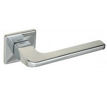 """Дверная ручка на квадратном основании Fratelli Cattini """"BOSTON"""" 8FS-CR полированный хром"""