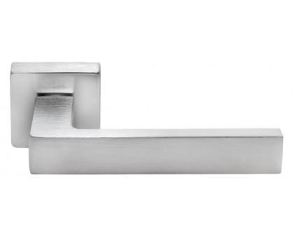 Ручка дверная Morelli Luxury HORIZONT (ГОРИЗОНТ) SQ CSA хром матовый