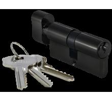 Ключевой цилиндр MORELLI с поворотной ручкой (70 мм) 70CK BL Цвет - Черный