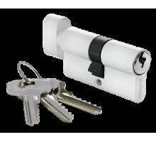 Ключевой цилиндр MORELLI с поворотной ручкой (60 мм) 60CK W Цвет - Белый