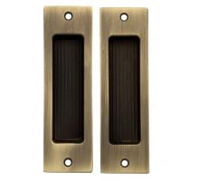 Ручка для раздвижной двери Venezia U166 матовая бронза (2шт.)