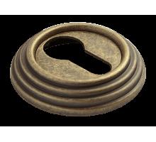 Накладки на ключевой цилиндр Rucetti RAP-CLASSIC-L KH OMB Цвет - старая античная бронза
