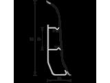 Плинтус напольный Ideal Элит-Макси 85х25