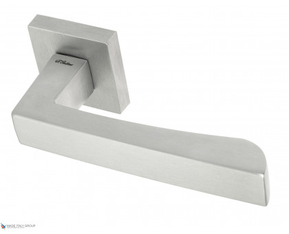 Дверная ручка Fratelli Cattini HAMMER 8-CS на квадратной розетке матовый хром