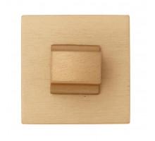 Фиксатор поворотный на квадратном основании Fratelli Cattini WC 8-KD золото крайола