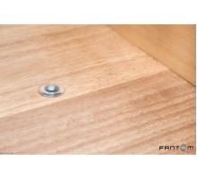 Упор магнитный напольный дверной FANTOM PREMIUM HGT001 Прозрачный