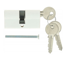 Цилиндровый механизм Extreza AS-60 ключ-ключ 25x10x25 белый матовый F26