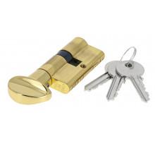 Цилиндровый механизм Extreza AS-60С ключ-вертушка 25x10x25 полированная латунь F01