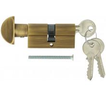 Цилиндровый механизм Extreza AS-60С ключ-вертушка 25x10x25 матовая бронза F03