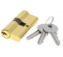 Цилиндровый механизм Extreza AS-60 ключ-ключ 25x10x25 полированная латунь F01