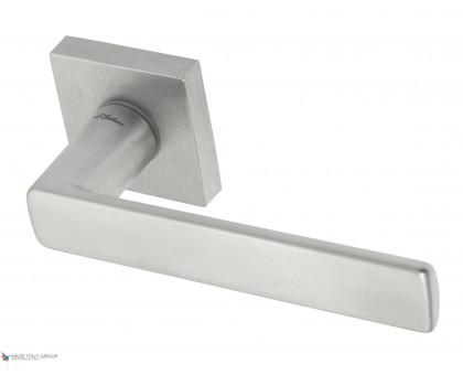 Дверная ручка Fratelli Cattini ELLE 8-CS на квадратной розетке матовый хром